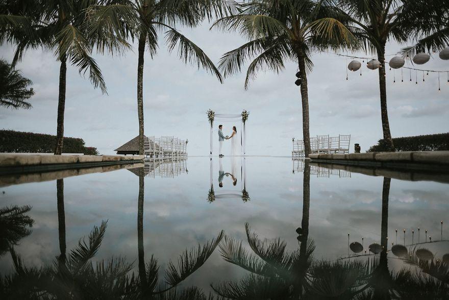 Sinaran Surga Uluwatu, Bali, Indonesia