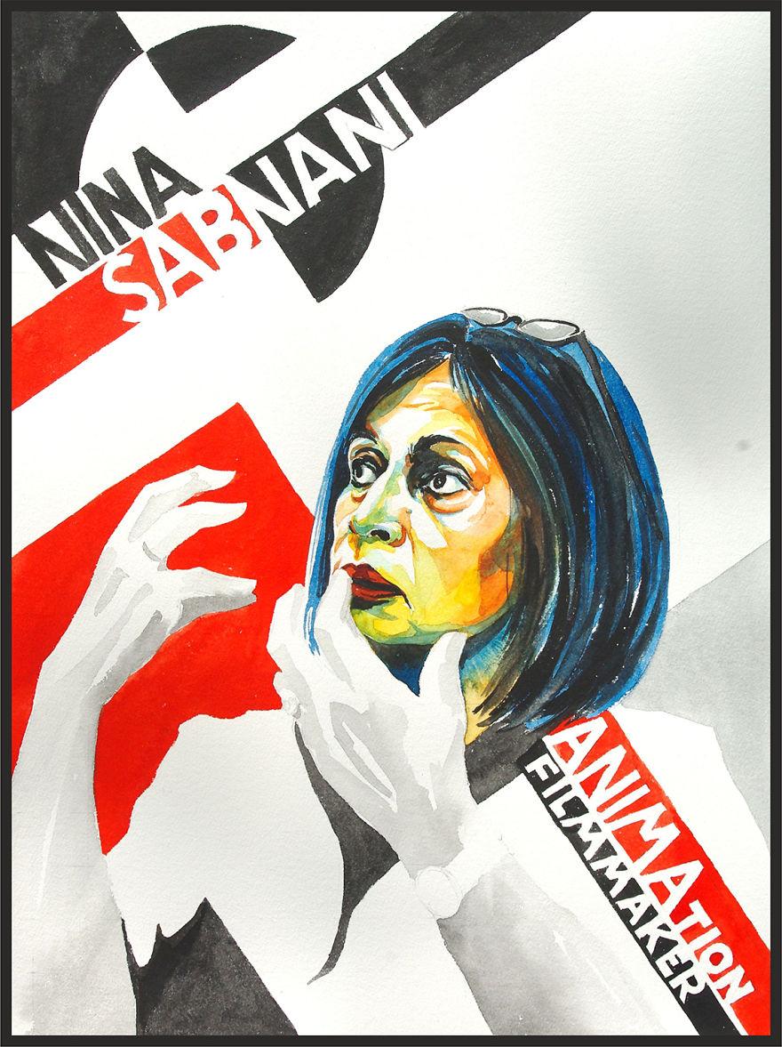 Nina Sabnani, Animator