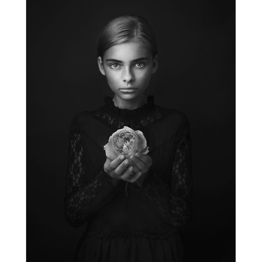 """Hope"" By Lisa Visser, Uk (3rd Place In The Portrait Category)"