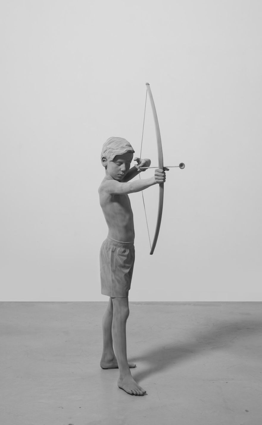 Incredibly Lifelike Sculptures By Belgian Artist