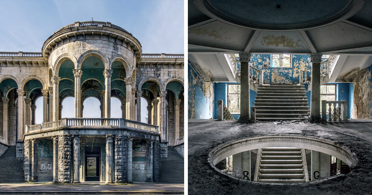 I've Captured The Perishing Beauty Of Once Flourishing Sanatorium In Georgia