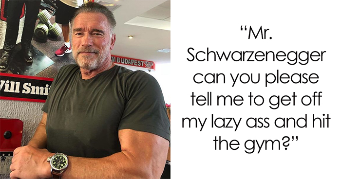People Are Applauding The Way Schwarzenegger Responded To An Internet User Who Was Depressed For Months