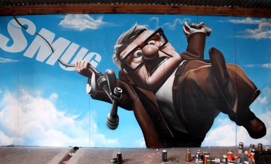 Street Art By Smug One