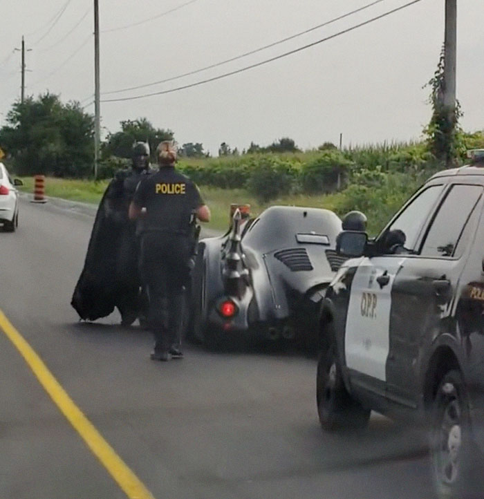 Batman Got Pulled Over By The Cops Even Though He Didn't Break The Law