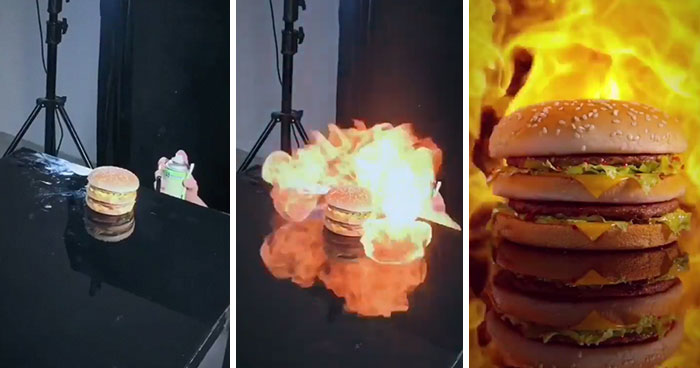 Genius Chinese Company Creates High-End Food Ads Using Super Low-Budget Items, And Result Is Amazing