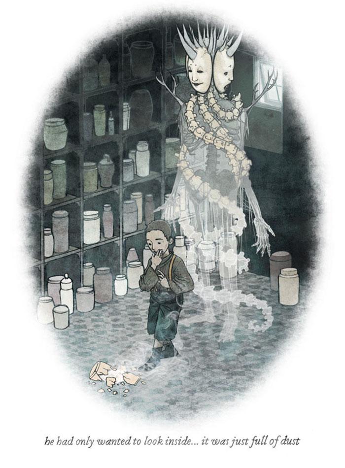 Scary Illustration