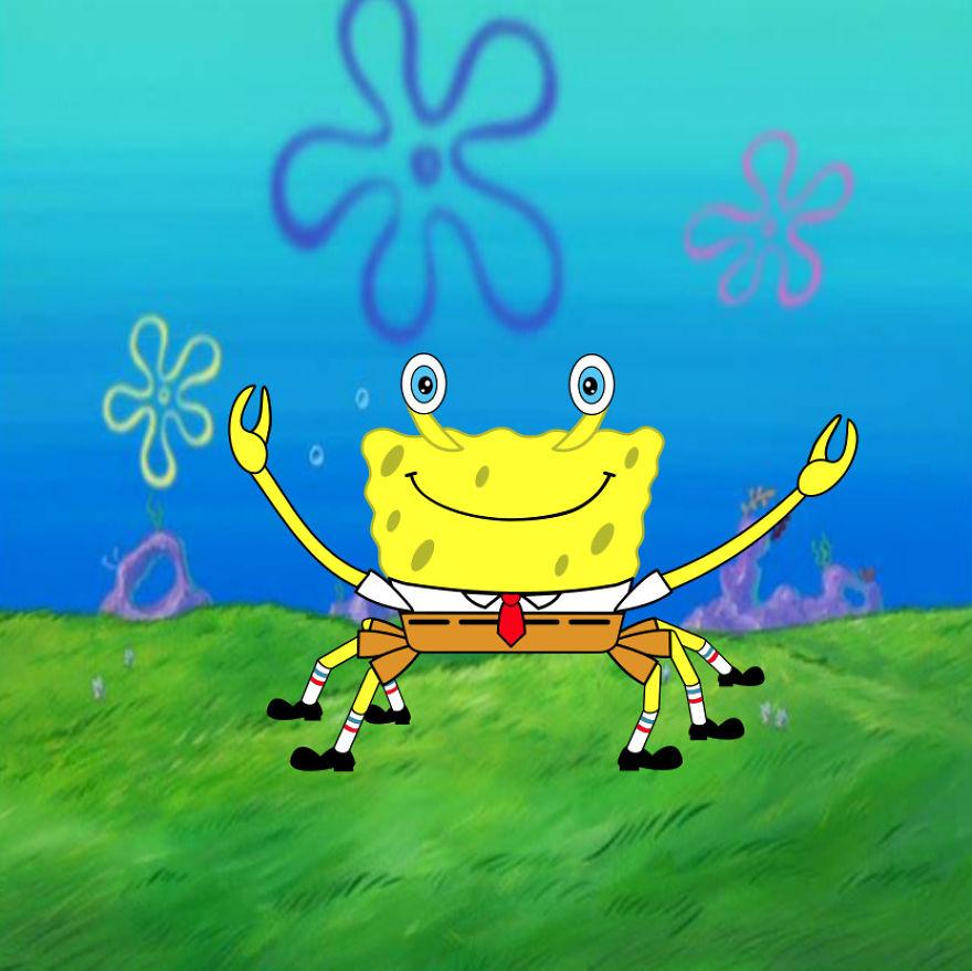 Crab Spongebob