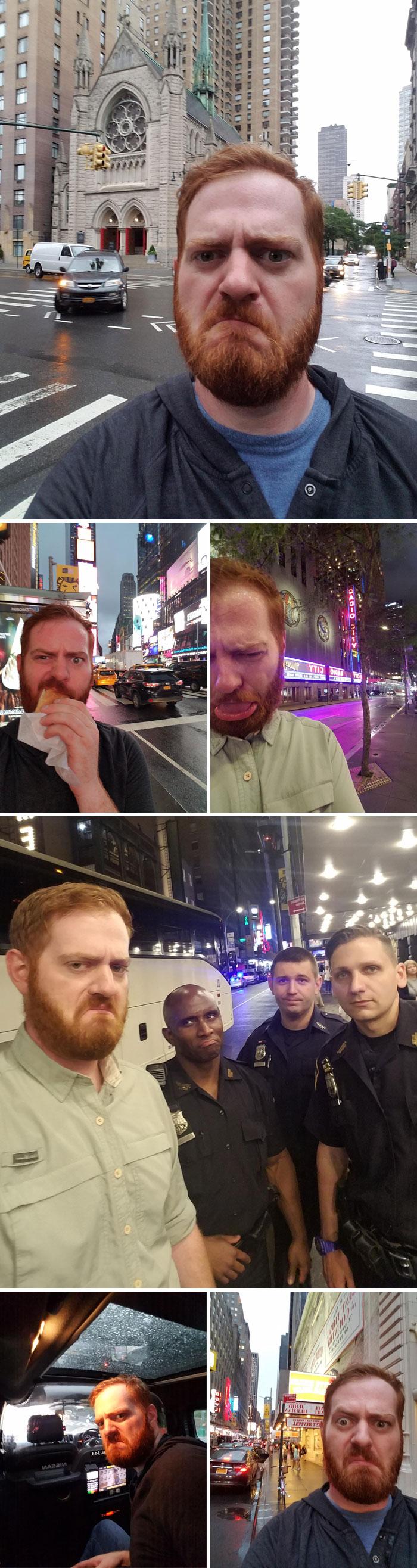 Fui a Nueva York por negocios y tuve que demostrarle a mi esposa que no lo estaba pasando bien sin ella