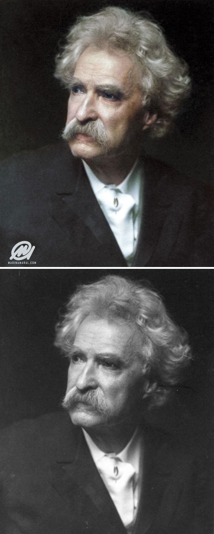 Mark Twain 1900s