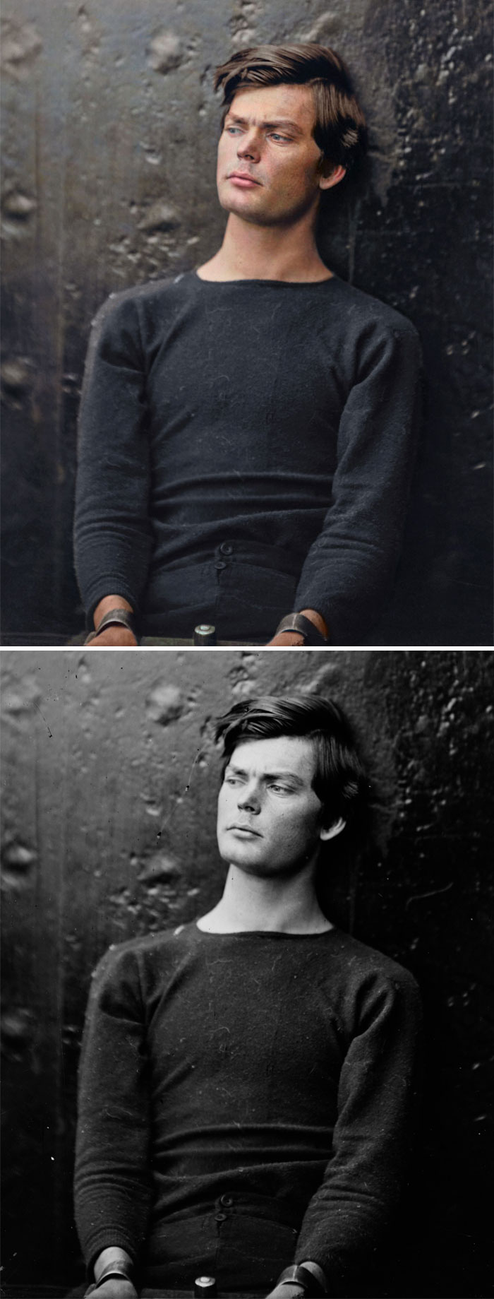 Lewis Powell. He Was A Conspirator With John Wilkes Booth, Who Assassinated President Abraham Lincoln