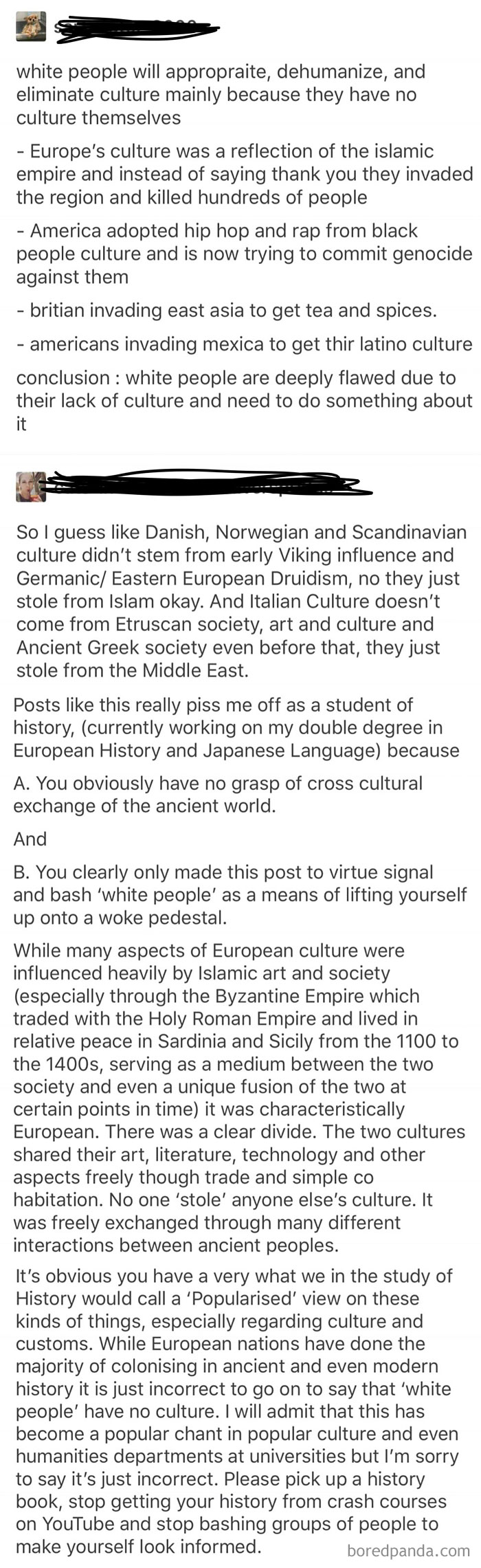 Racist Tumblr User Is Schooled In History