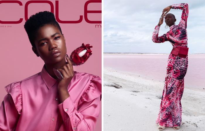 Cole Magazine's All Black Model Fashion Issue