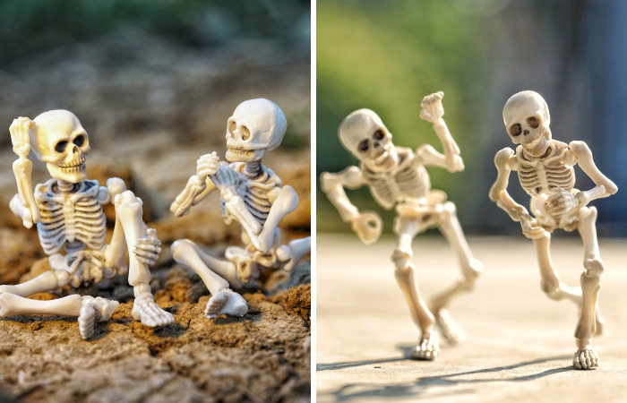 My 2 Skeletons Have Sunny Holidays Too