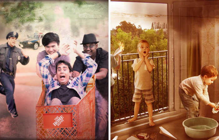 A Story From My Childhood Inspired Me To Turn People's Funniest Memories Into Photographs
