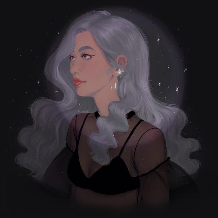 I Create Dreamy Illustrations