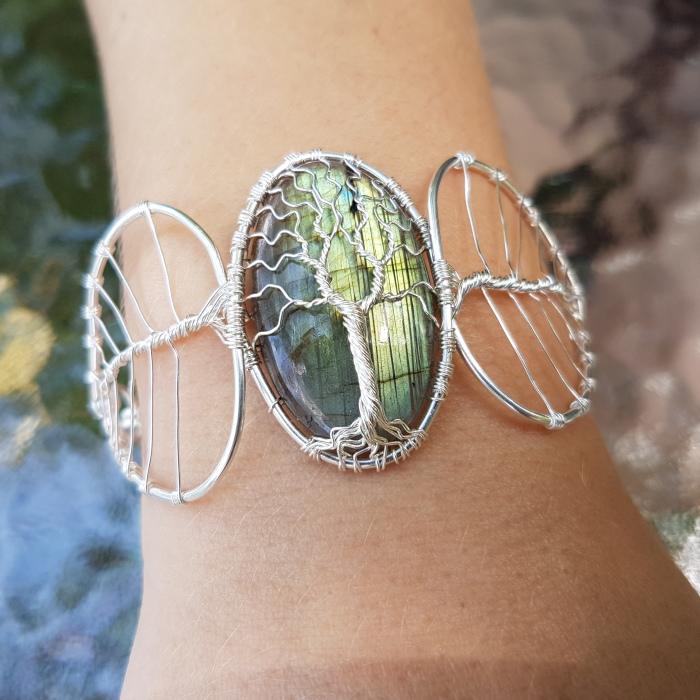 How Did I Make This Labradorite Bracelet