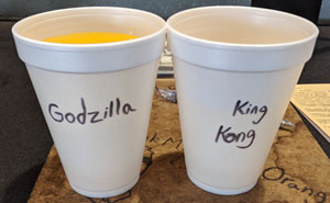 These Coworkers Label Each Other's Cups With Asian And White Stereotypes, And It's Really Entertaining