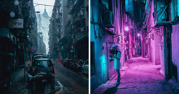 20+ Photos From My Neon Hunting In Cyberpunk Cities Of Asia