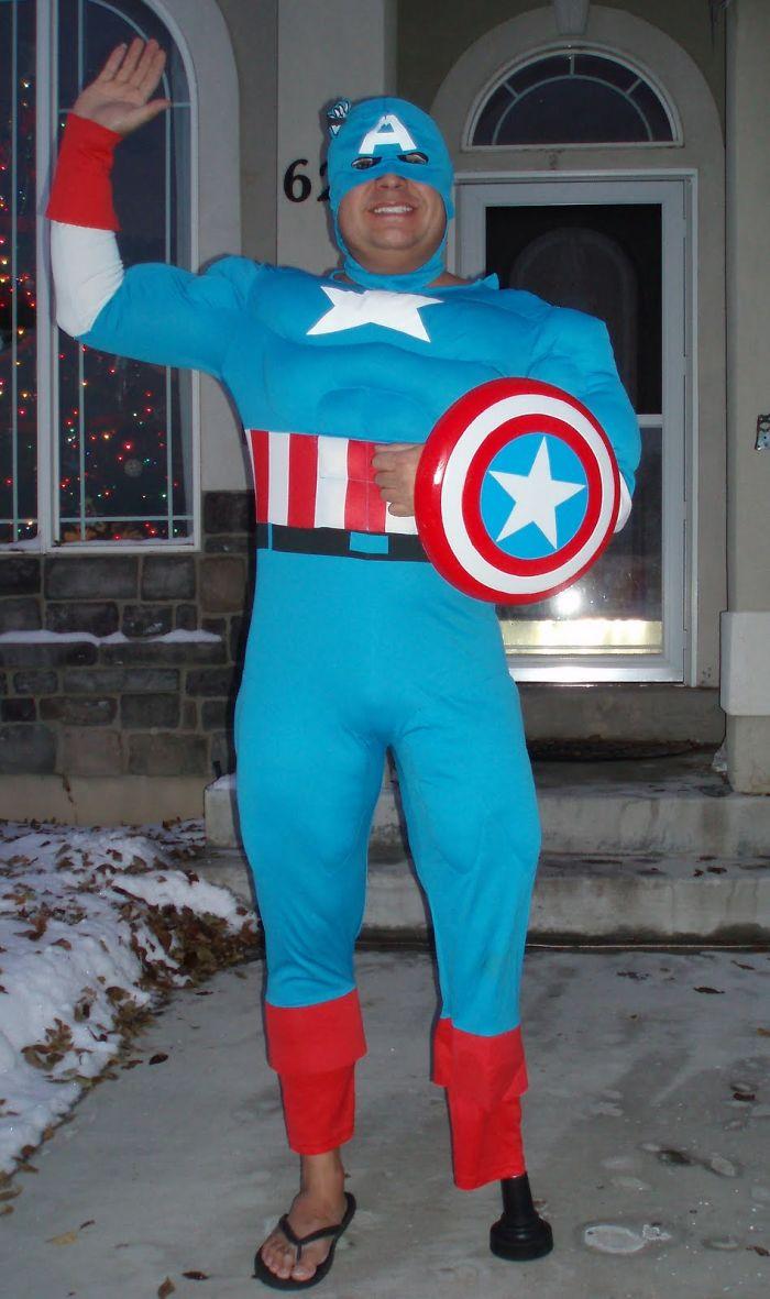 You Know This Superhero