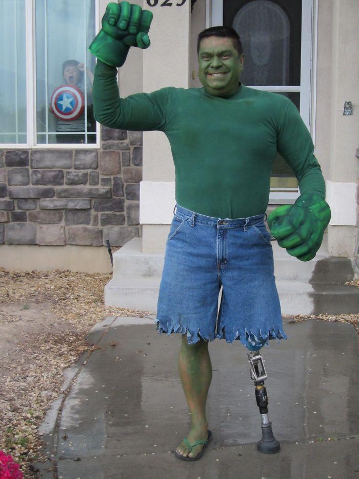 Ncredible Hulk Or Hunk?