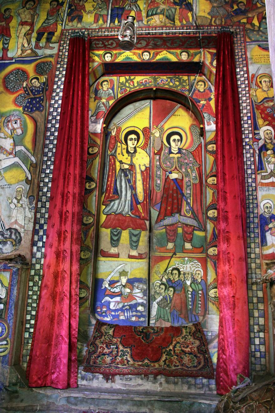 Monastery Of Oura Kidane Mehret, Bahir Dar, Ethiopia