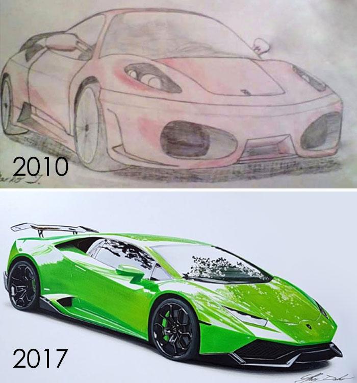 My Progress In 7 Years