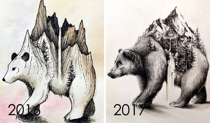 1 Year Improvement
