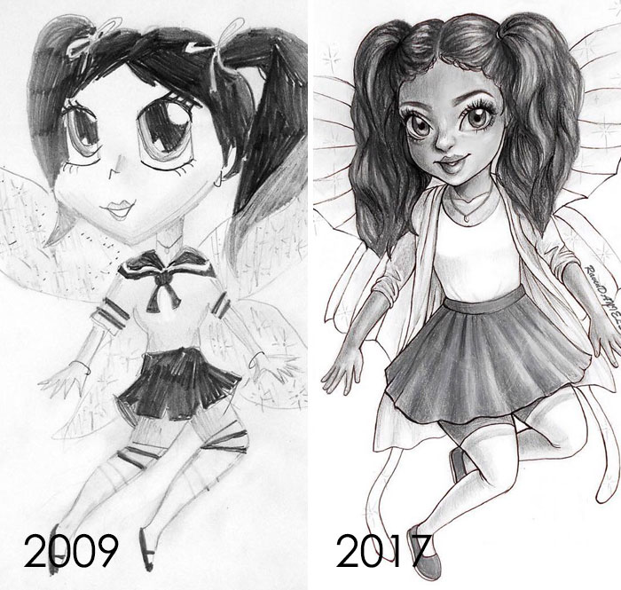 So In My 12-Year-Old Mind Preppy Equaled A School Girl Outfit. It Was Very Fun Redrawing This! Huge Confidence Booster