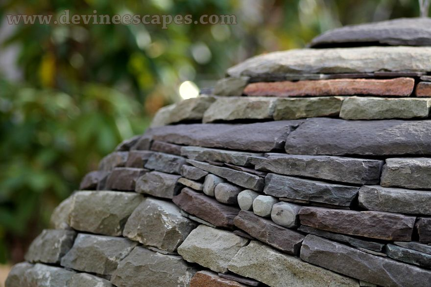 Visionary Eco-Art: I Take Bits Of Stone And Fit Them Together
