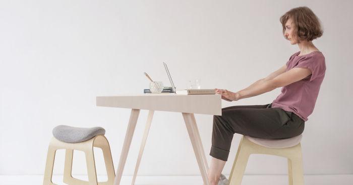 Peachy We Designed A Healthy Alternative To Regular Desk Chairs Evergreenethics Interior Chair Design Evergreenethicsorg