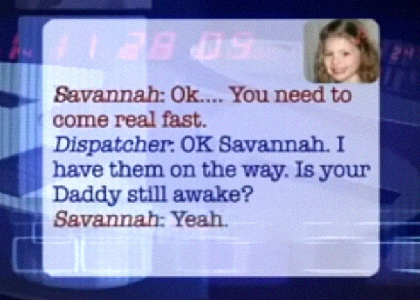 Brave Little Girl Calls 911 To Save Dad's Life, And Her Conversation With The Dispatcher Is Cracking Everyone Up