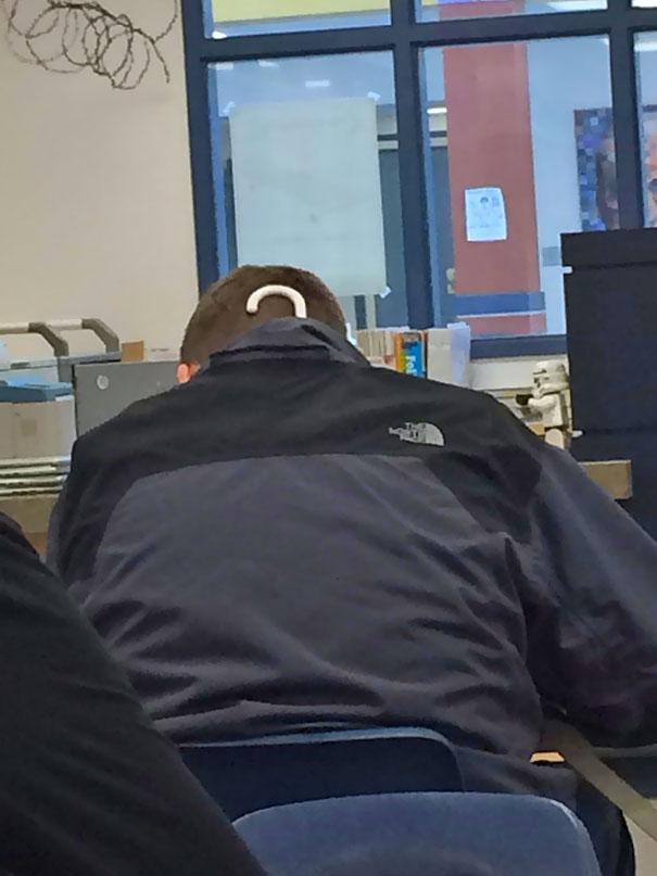 Guy At My School Forgot Something This Morning