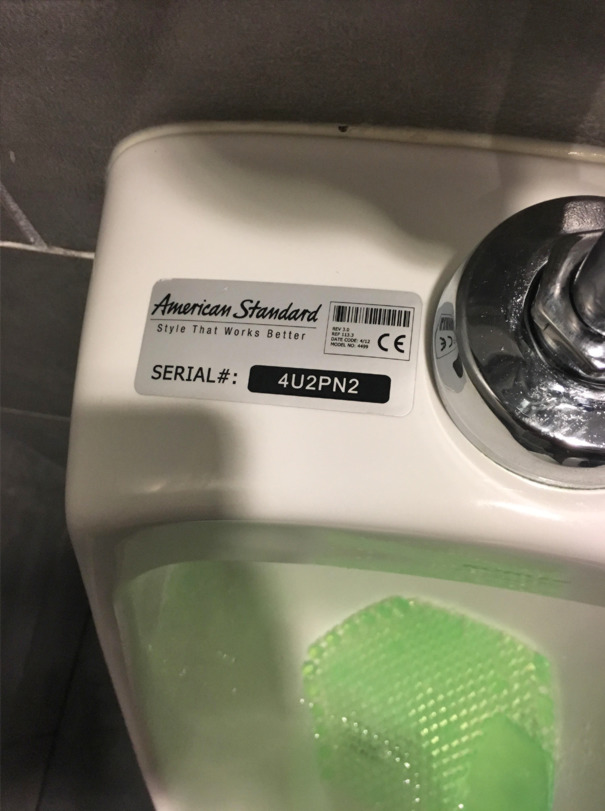 Saw This At A Bar I Went To Today (Look At The Serial Number)