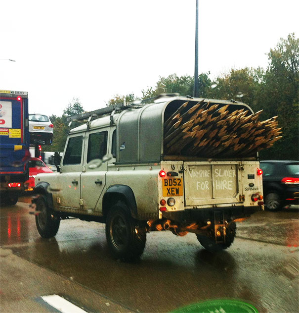 Spotted This Morning On The M25, UK