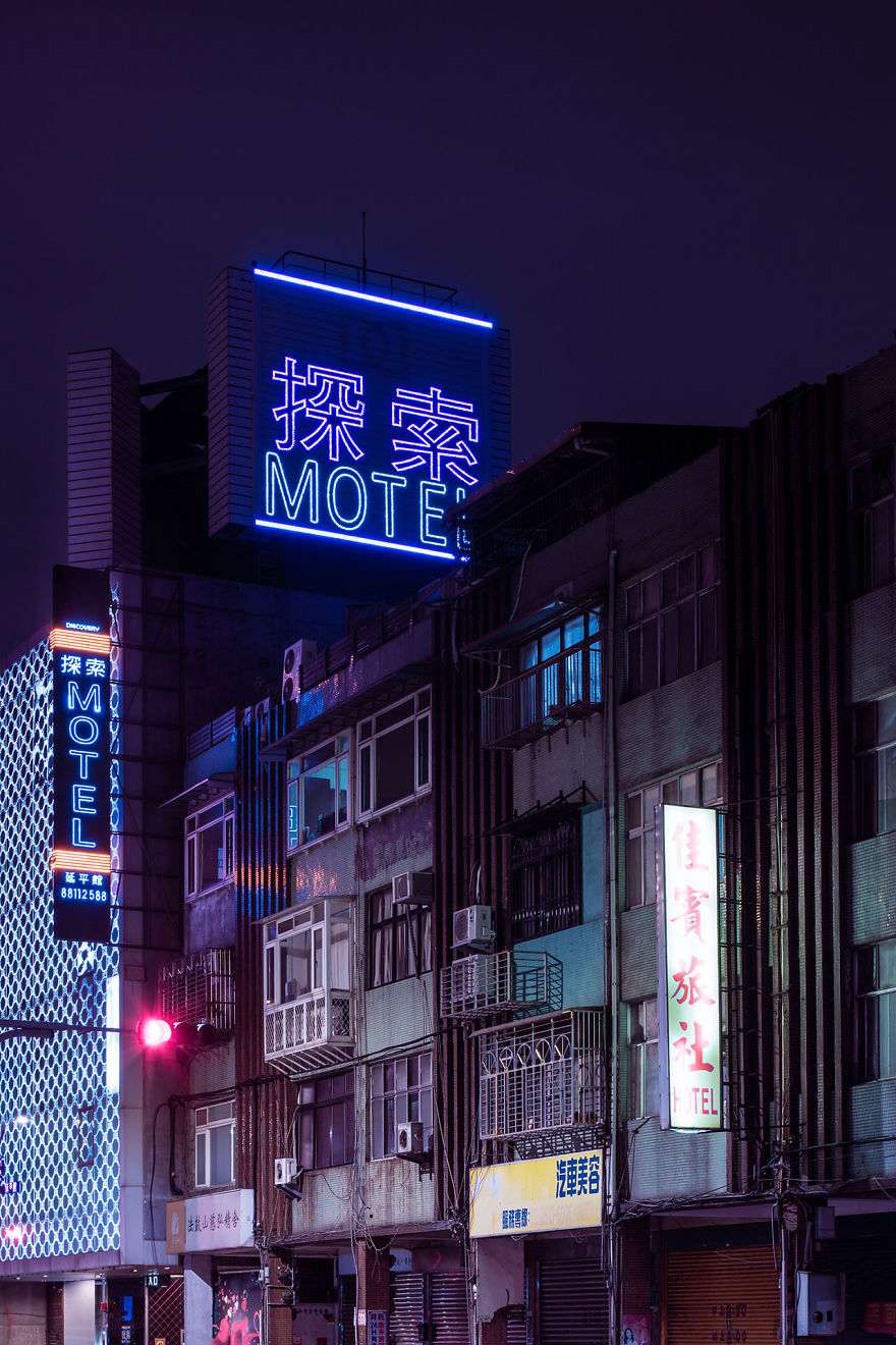 A Motel On The Edge Of The City