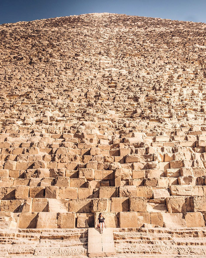 The Great Pyramid Of Giza  Compared To A Human