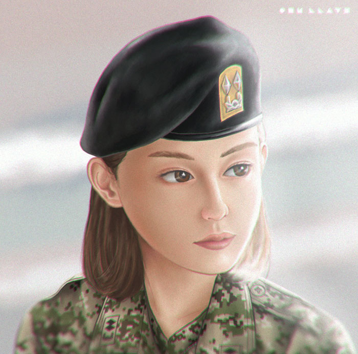 I Illustrated Some Iconic Characters From Popular Korean Series