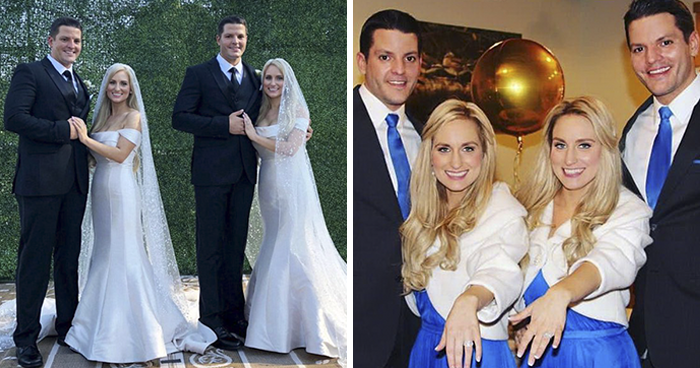 Identical Twin Sisters Marry Identical Twin Brothers, And Everyone Is Thinking The Same Thing Right Now