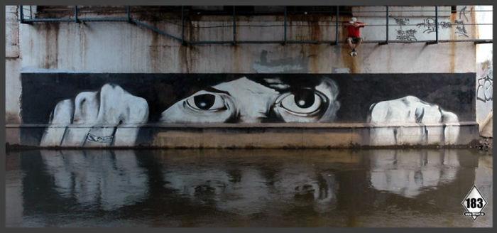 Russian Banksy – Pavel 183
