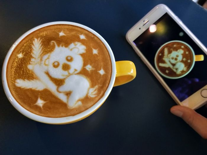 Lovely Latte Art In China Transcends The Language Barrier