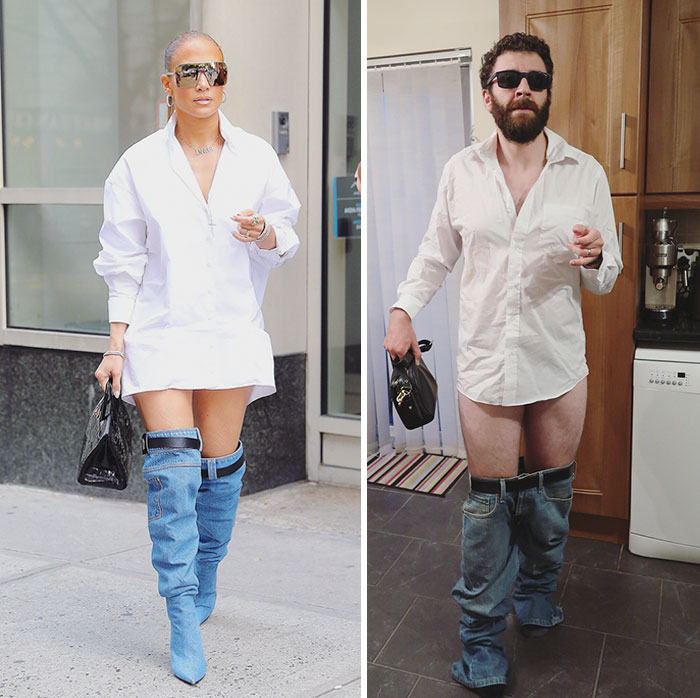 People Are Laughing At The Way This Guy Trolled Jennifer Lopez S New Look 10 Pics Bored Panda