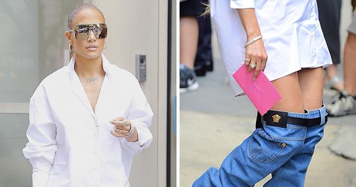 La gente no para de reír con este tipo que troleó el nuevo look de Jennifer Lopez (10 imágenes)