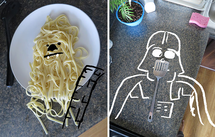 I Reimagined Ordinary Kitchen Tools As Star Wars Characters