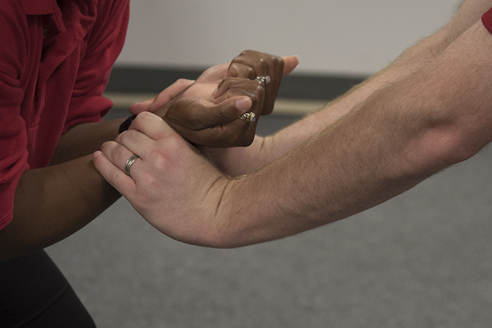 How To Pull Away If Someone Grabs Your Wrists