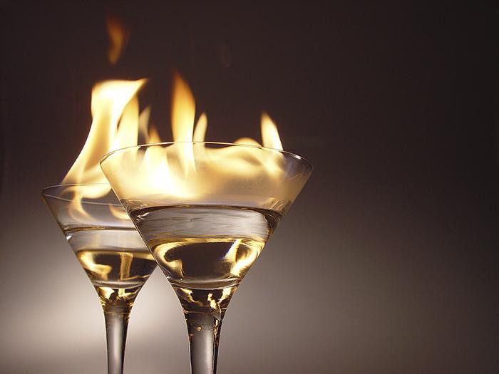 Using Liquor As A Sanitizer