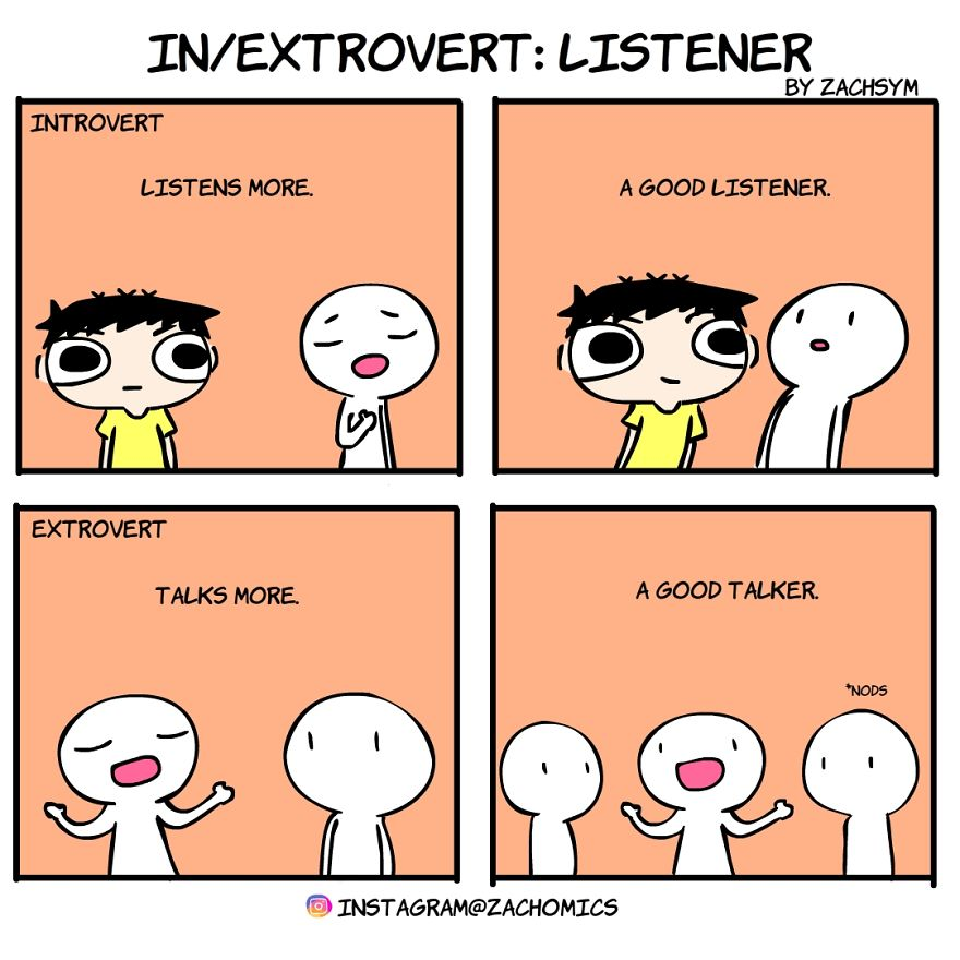 11 Comics That Will Help You Decide If You're An Introvert Or Extrovert