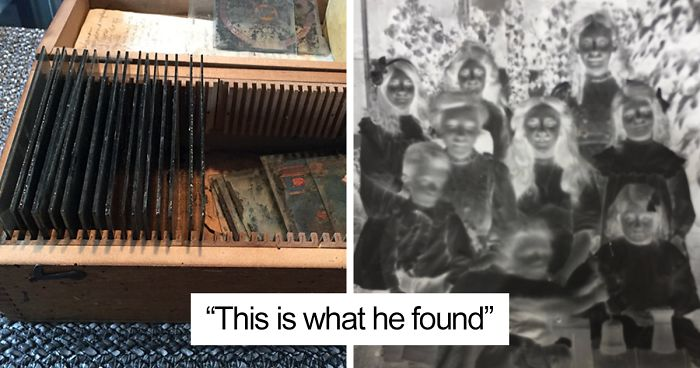 Man Buys A Mystery Old Box At Boot Sale For £4, Son Asks Internet To Identify What He Finds Inside