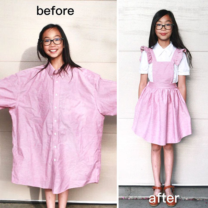 Old Clothes Transformation