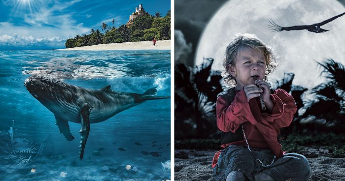 I Create Photographic Children's Books With My Family And Friends
