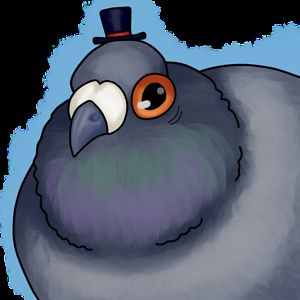 Pigeon named Beans